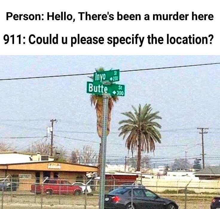 911: Could you please specify the location? In Yo Butte