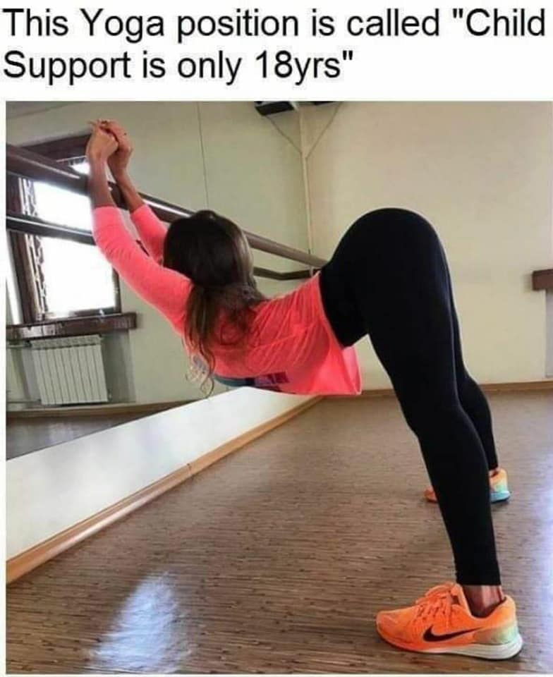yogo position child support 18 years