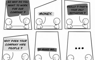 you want to work for money