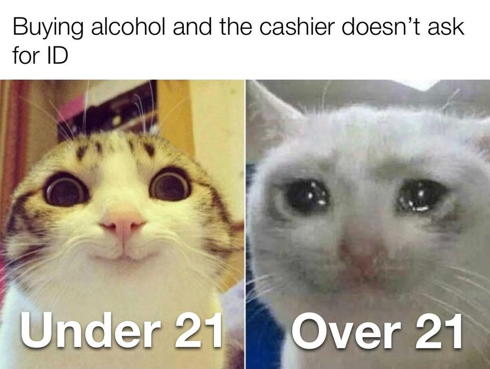 cashier dont ask for id