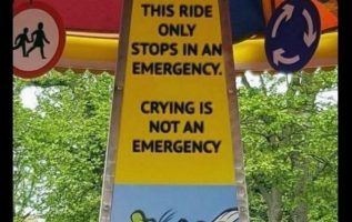 crying is not an emergency