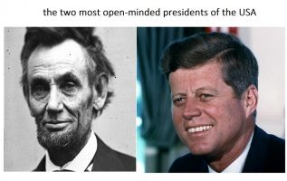 most open minded usa presidents