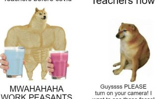 teachers now and then