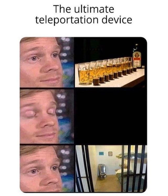 The ultimate teleportation device.